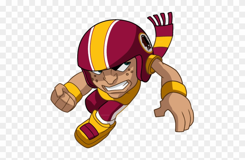 Redskins Clipart Collection - Nfl Rush Zone Rushers Eagles #77946