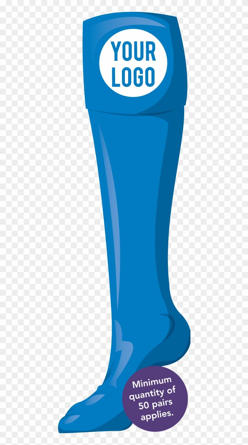 Plain Custom Hockey Socks With Logo - Rugby Socks #78102