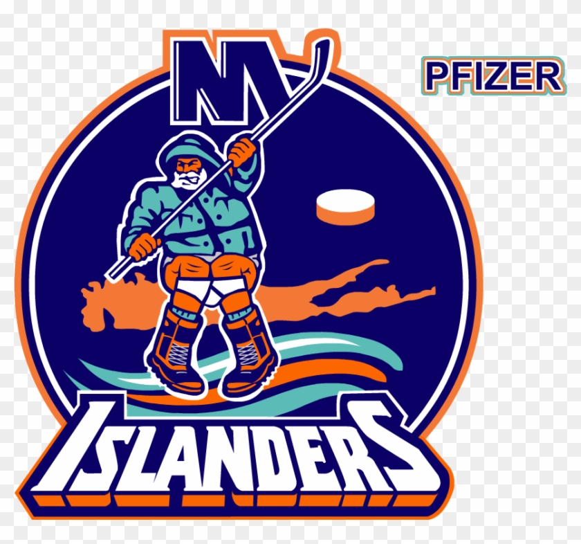 new concept abe45 e103f Captains - New York Islanders Fisherman Logo - Free ...