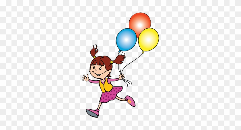 Children At Play - Children Play With Balloon Png #78320