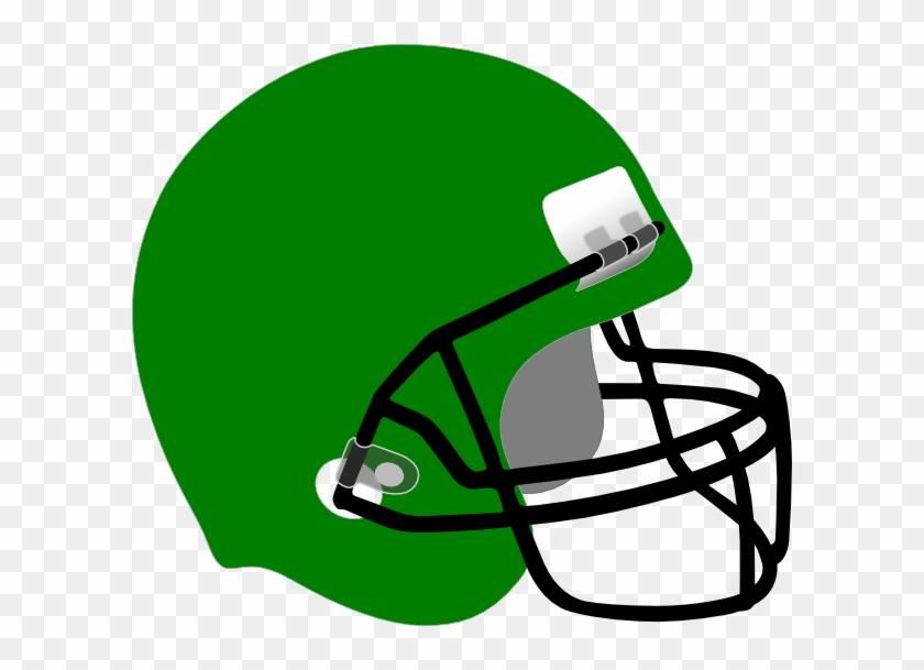 Football Helmet Clip Art - Green Football Helmet Clipart #78378