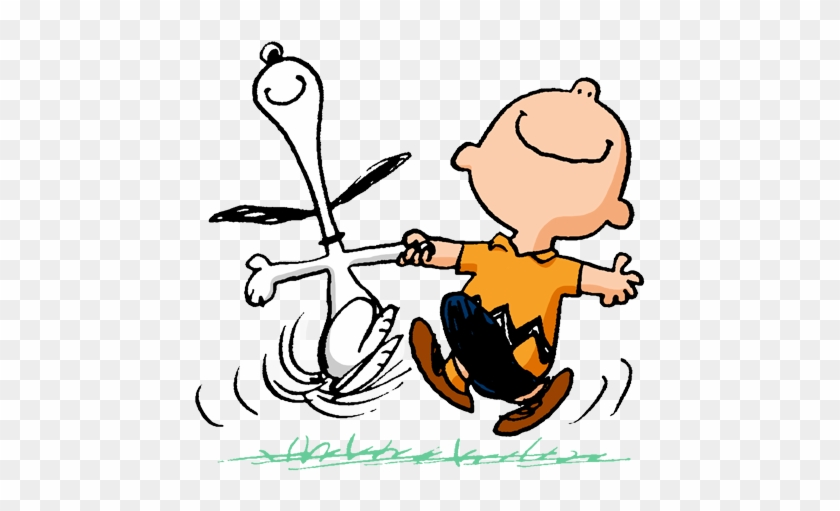The Best Thing To Happen To Any Kid Is The World Of - Charlie Brown Happy Dance #78428