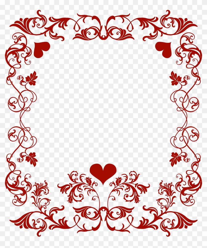 Valentine S Day Decorative Border Transparent Png Clip Valentine S