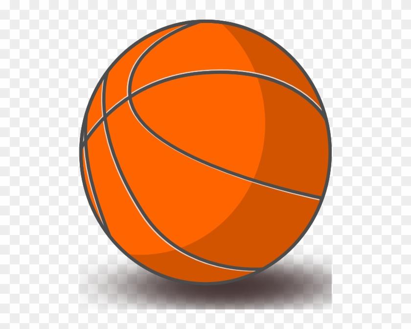 Basketball Clip Art Free Vector 4vector Rh 4vector - Basketball Clip Art #78554