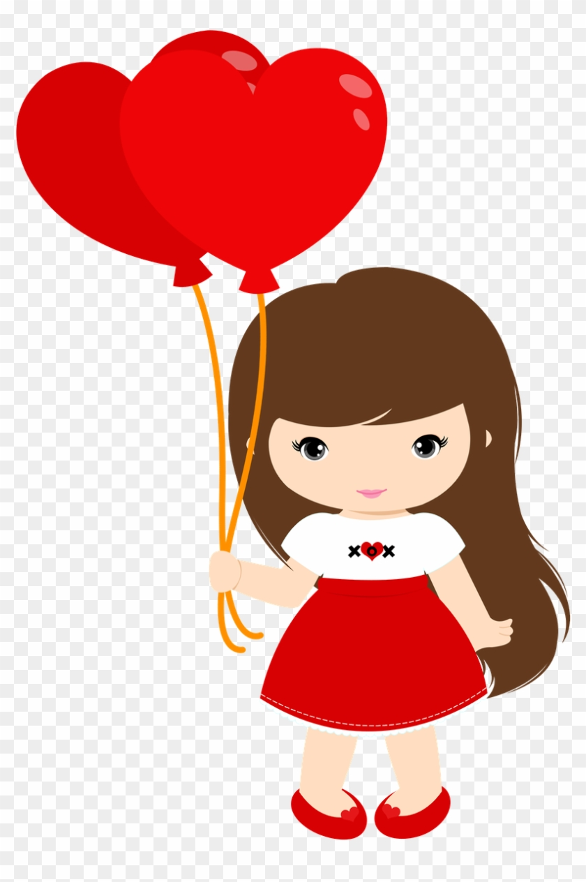 Http - //moniquestrella - Minus - Com/migexi2ll8wqd - Valentines Day Girl Clipart #78593