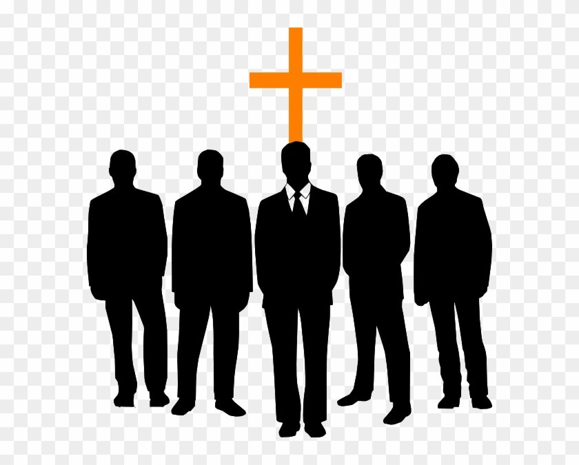Men Of Prayer Clip Art At Clkercom Vector Online Royalty - Black Men In Church #78713