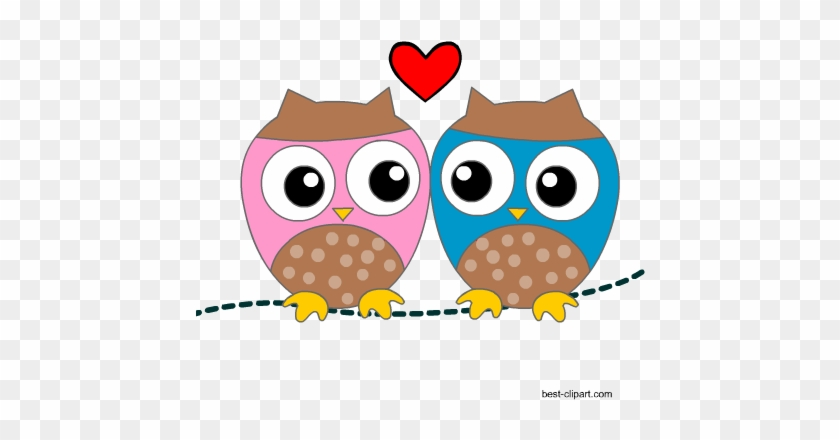Valentine's Day Fun - Notebook Owl Clipart (#1787058) - PinClipart