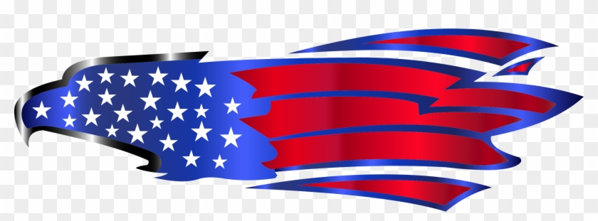Eagle Enhanced Red White And Blue Eagle Logo Free Transparent