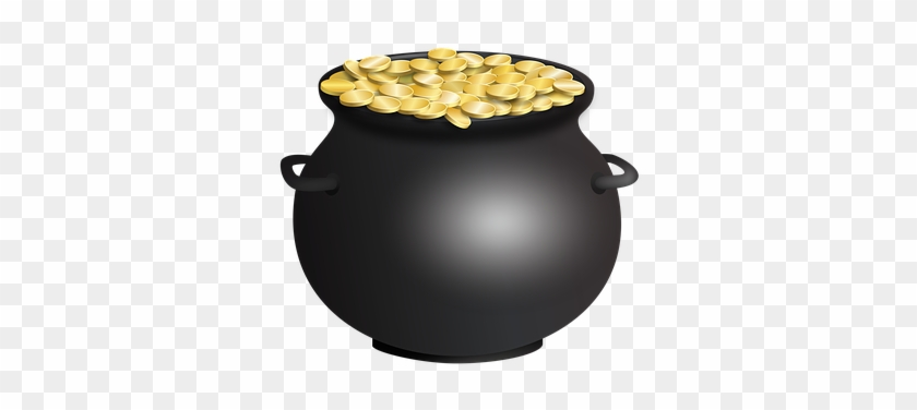 Pot Of Gold St Patrick's Day Cauldron Spad - St Patrick's Day Pot Of Gold #78805