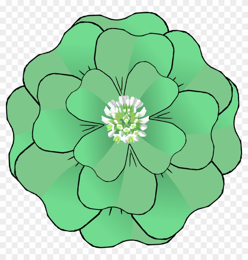- Ai, - Eps, - Svg, - Free Clipart Of A St Patricks - Four-leaf Clover #78825