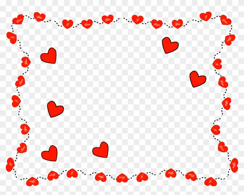 Valentines Clip Art 9 Wide Wallpaper Love You Frames Png Free