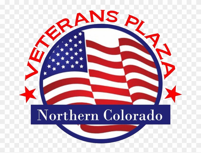 Veterans Plaza - American Flag No Background #78861