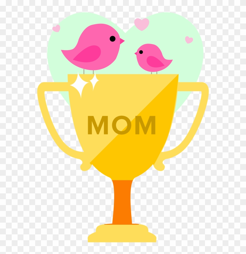 Limited Edition Mother's Day Contest Trophy - Mother's Day Contest Winner #79055