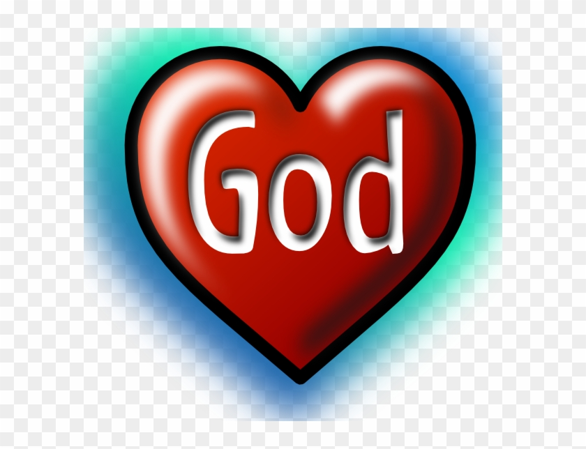 Free Vector God Heart Clip Art - God In Our Hearts #79106
