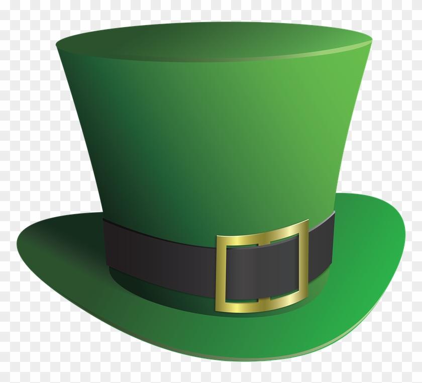 Top Hat Leprechaun Hat St Patrick's Day Sa - Leprechaun Hat Transparent #79172