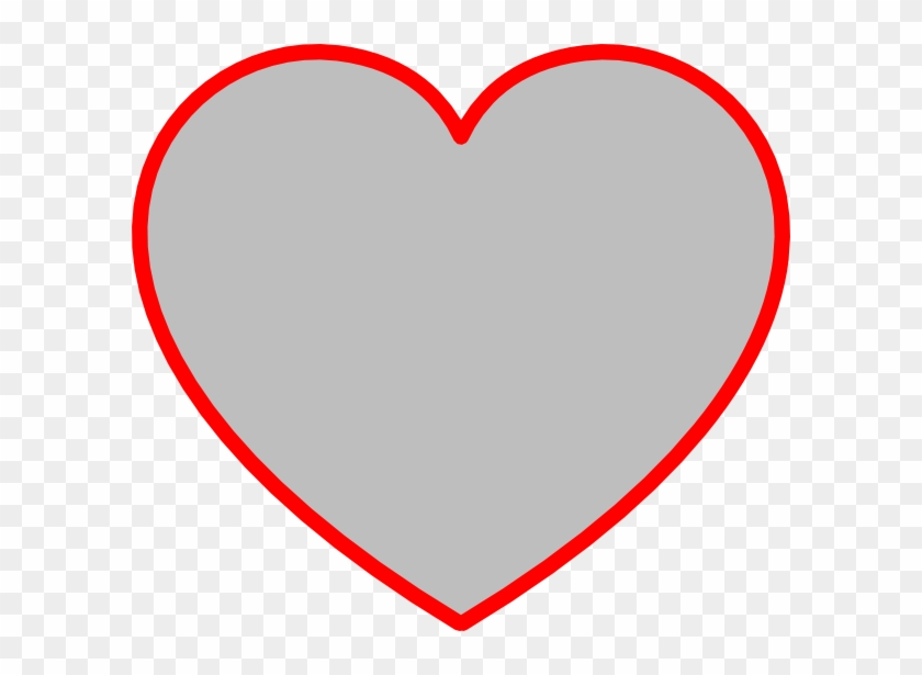 9 Heart Outline Clip Art Free Clipart Images - Heart Outline Shape #79214