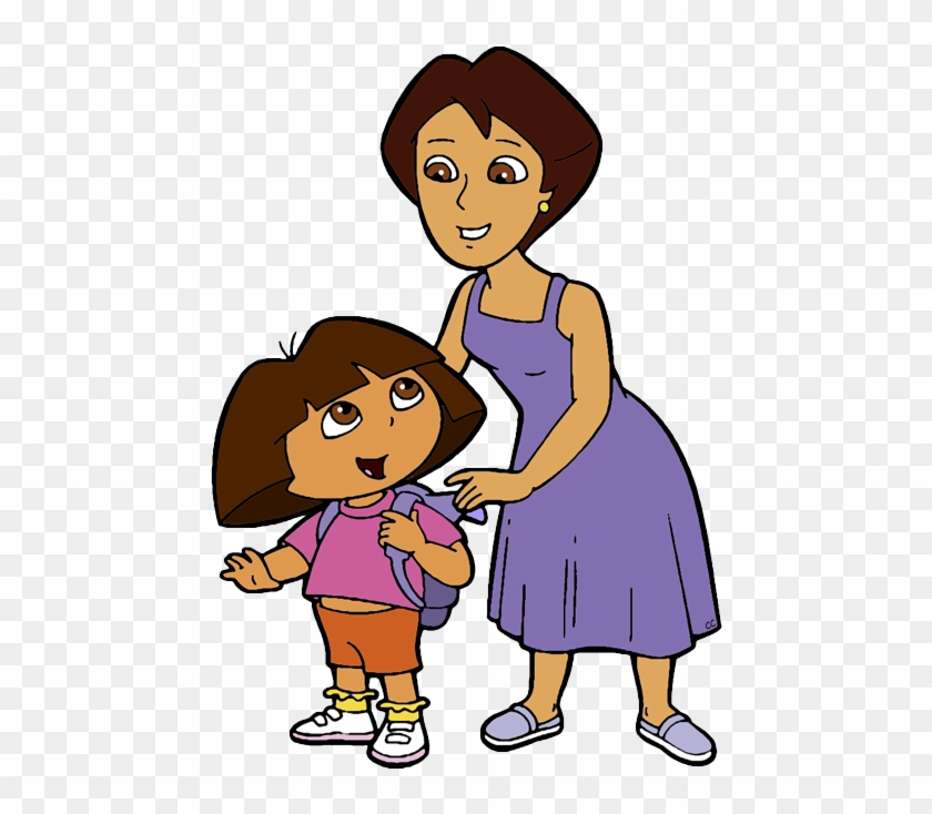 Dora And Her Mother Or Mami, Elena Marquez - Dora The Explorer Mami #79307
