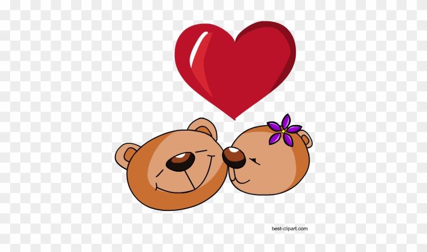 Teddy Bears, Free Clip Art For Valentine's Day - Teddy Bear #79432