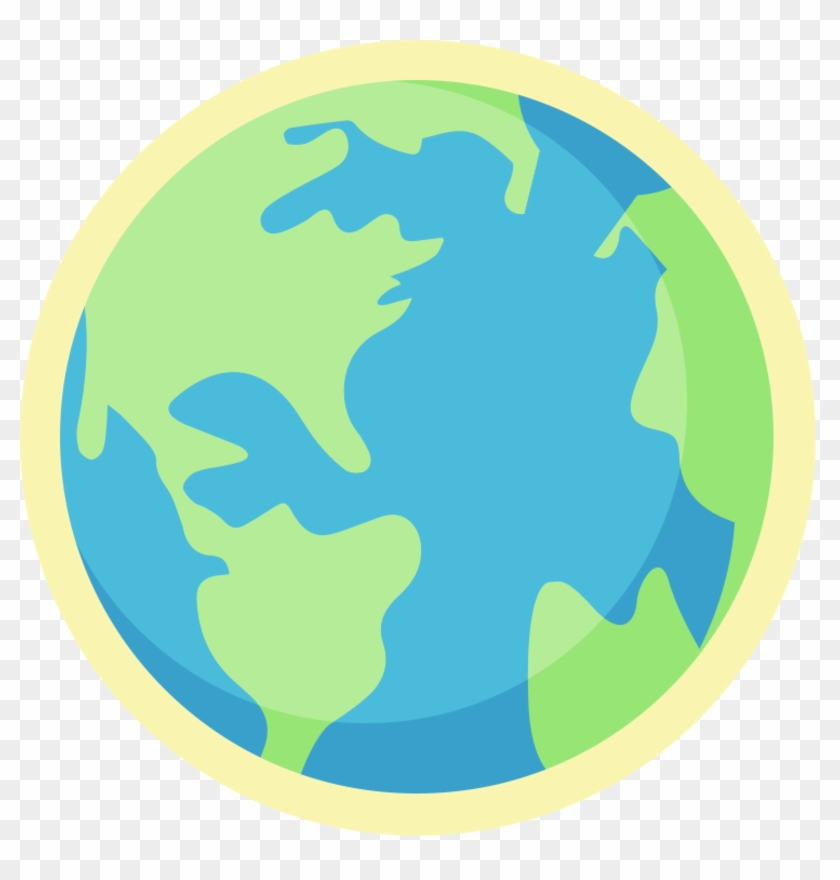Limited Edition Earth Day Badge - Globe #79477