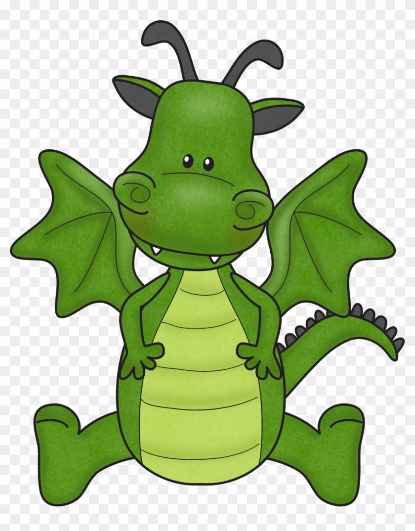 Earth Day Clipart For Kids - Cute Puff The Magic Dragon #79544