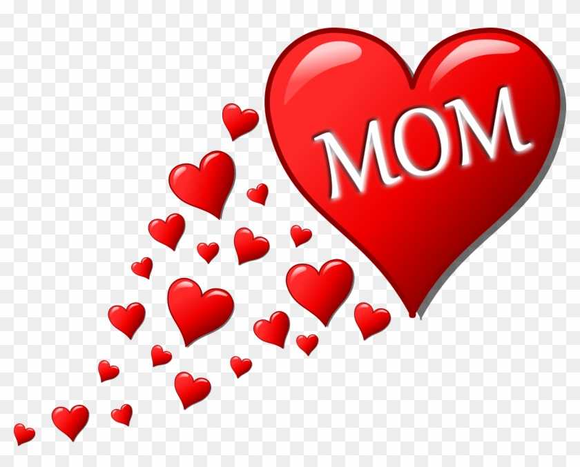 I Love You Mother Png Free Download Mothers Day Heart Free