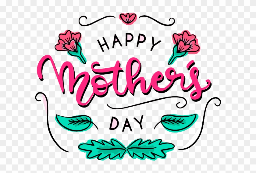 Download Simple Border Mother S Day Decoration Free - Mother's Day #79704