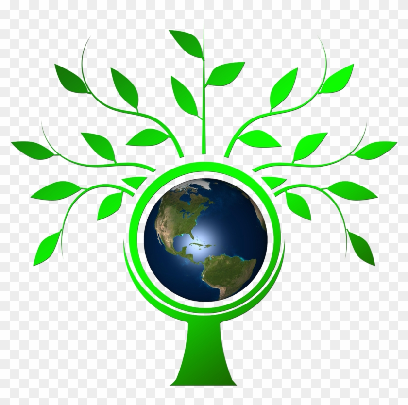 Honoring Earth Day - Family Tree Vector Png #79745