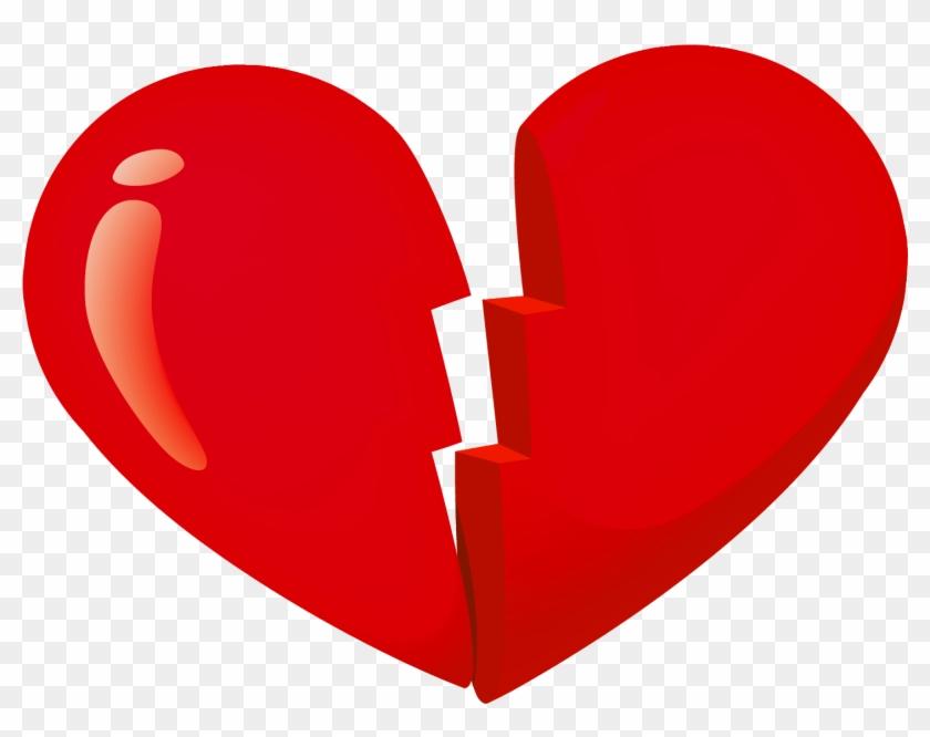 Masculine Valentine Cliparts Free Download Clip Art - Broken Heart Transparent Background #79792