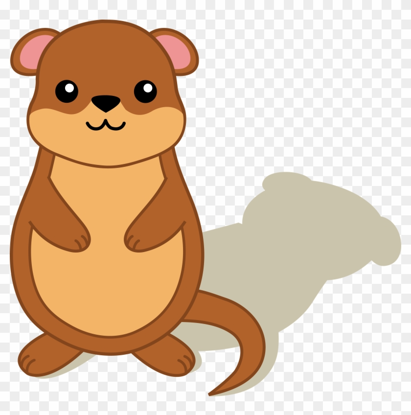 Homey Inspiration Groundhog Clipart Free With Shadow - Does Groundhogs Day Work #80059