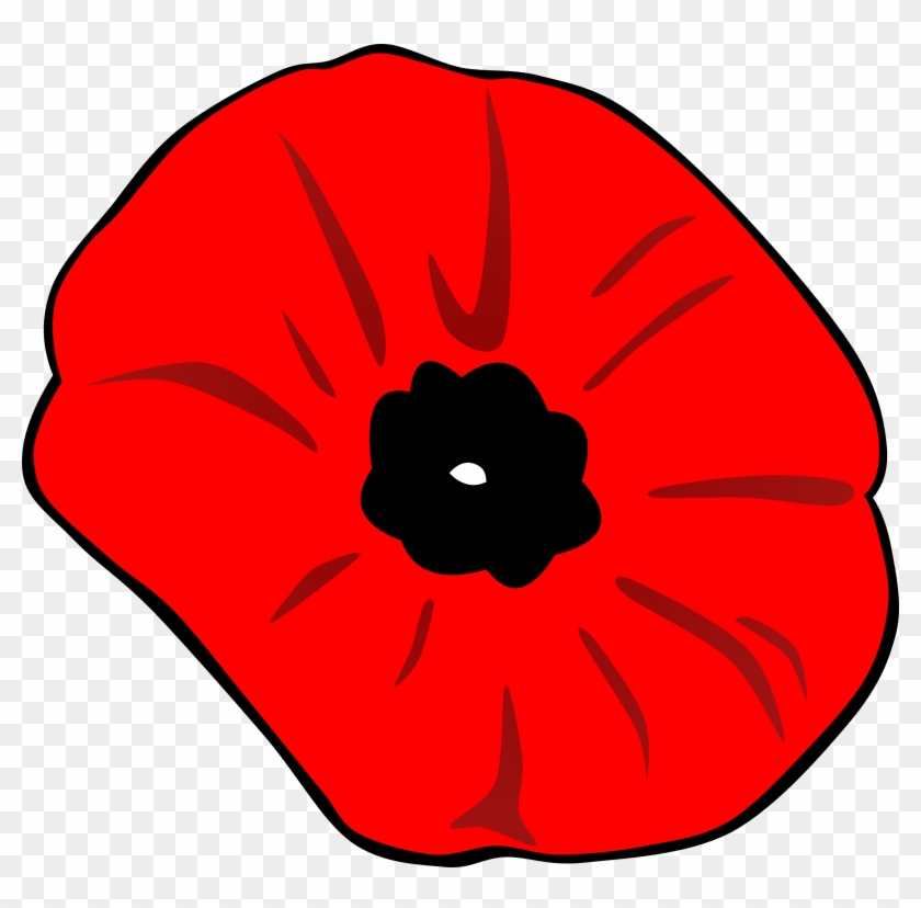 Clip Arts Related To - Remembrance Day Poppy Clipart #80277