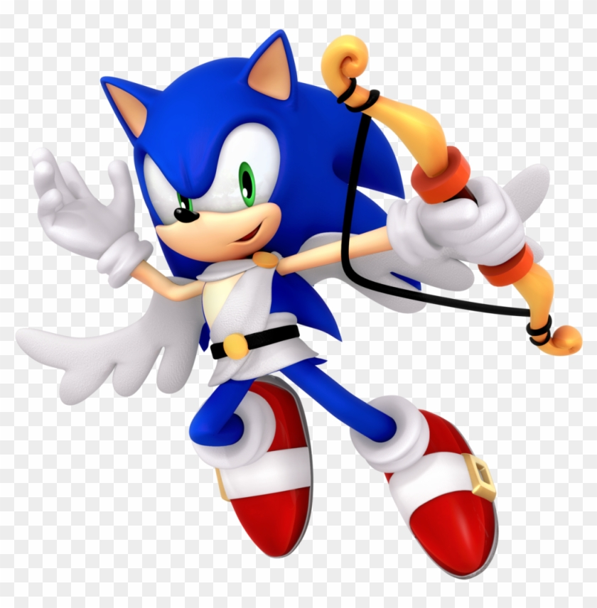 Cupid Sonic Valentines Day 2018 Render By Nibroc-rock - Cupid #80636