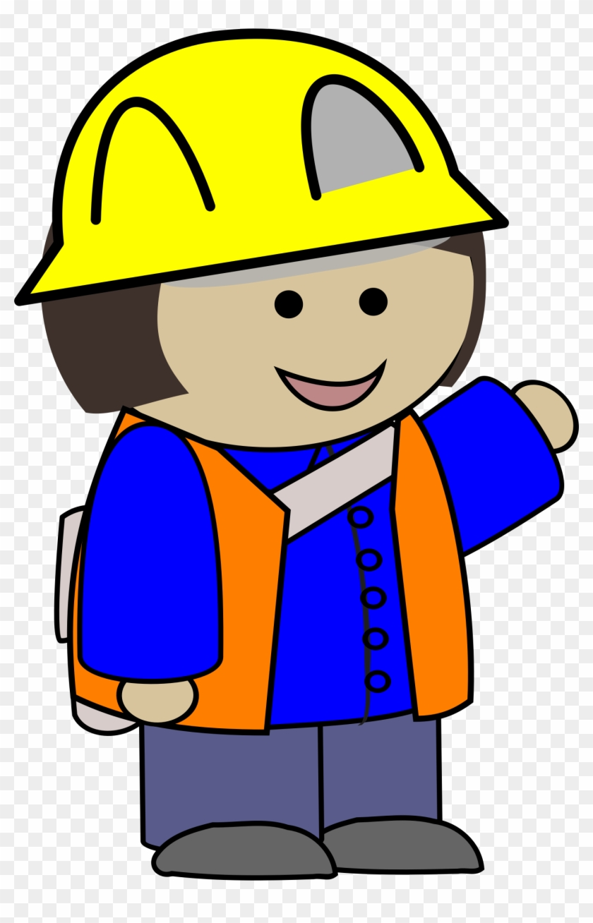 Penguin Clipart Photos And Images - Construction Worker Clip Art #80683