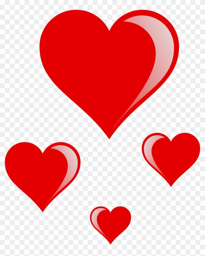 Valentine Heart Images Clip Art - Valentine Hearts Clip Art #80922