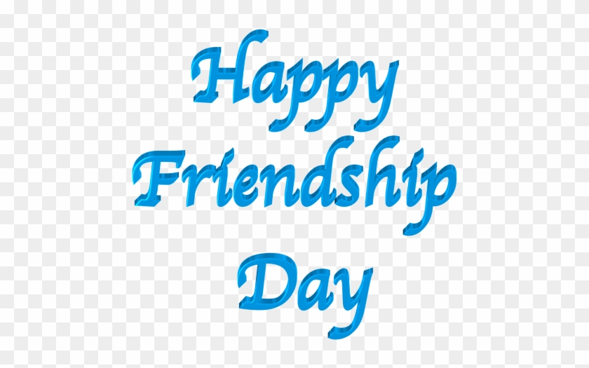 The Blue Text Happy Friendship Day Picture - Mom's Mother's Day Card #81026