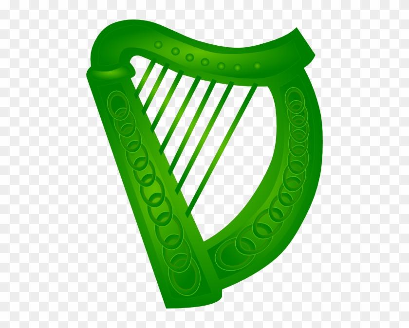 Irish Harp Vector #81051