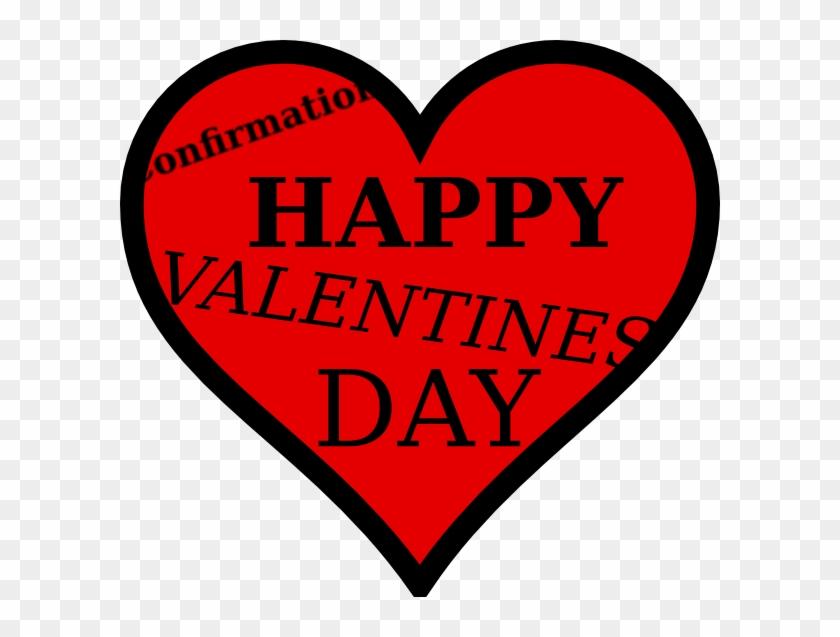 Happy Valentines Day Clip Art - Valentine Heart #81107