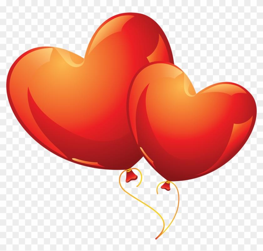 Photo Heart Clipart 25 - Heart Balloon Png #81156