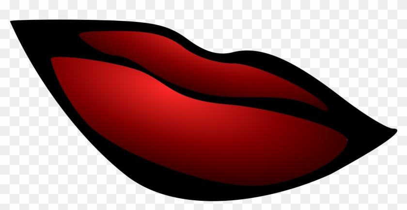 Big Image - Clip Art Girl Lips #81286