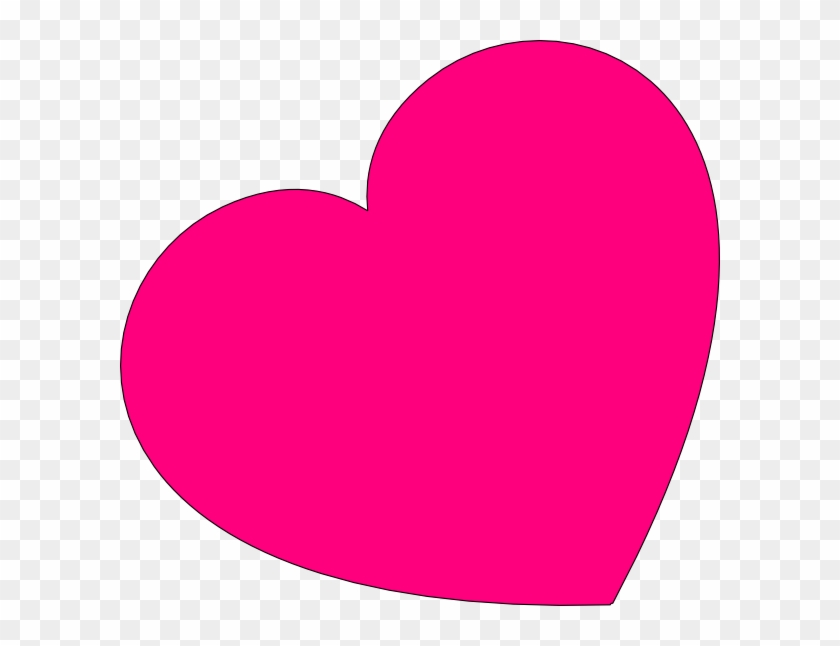 Small Pink Heart Clipart - Pink Valentine Hearts Clip Art #81584