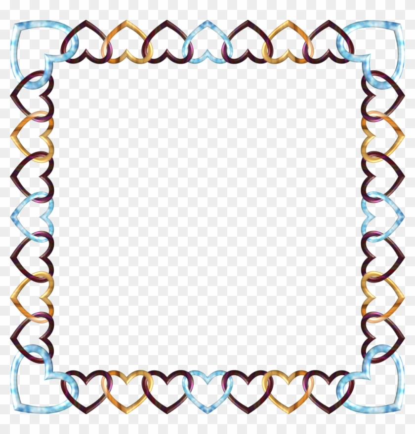 Square Frame Frozen By Happyare Square Frame Frozen - Square Heart Frame Png #81680