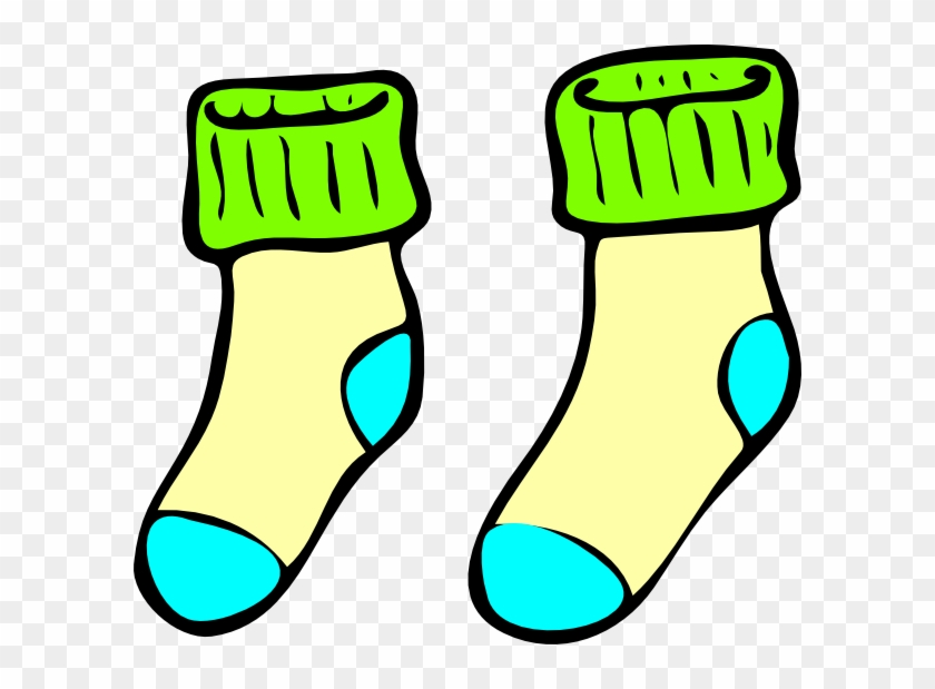 Sock Coloring Page - Free Transparent PNG Clipart Images Download