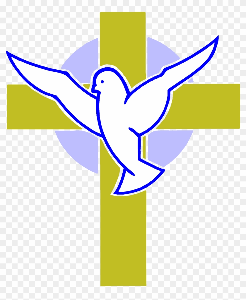 Marvellous Design Cross And Dove Images Tattoo Clipart - Dove And Cross Png #81888