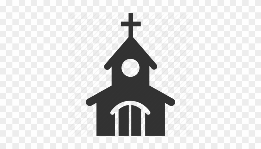 Church Clipart Transparent Png Images - Church Building Icon Png #81921