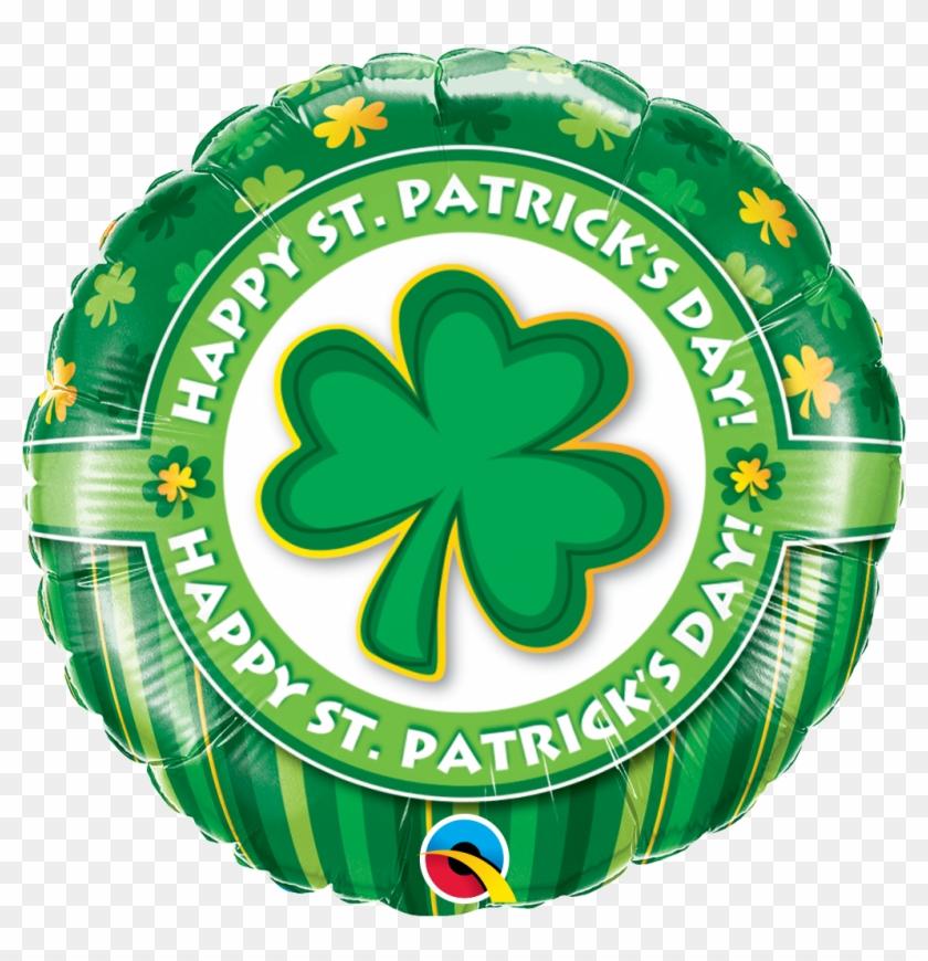 "Happy St Patricks Day Foil Balloon (18"") 1pc #81935"
