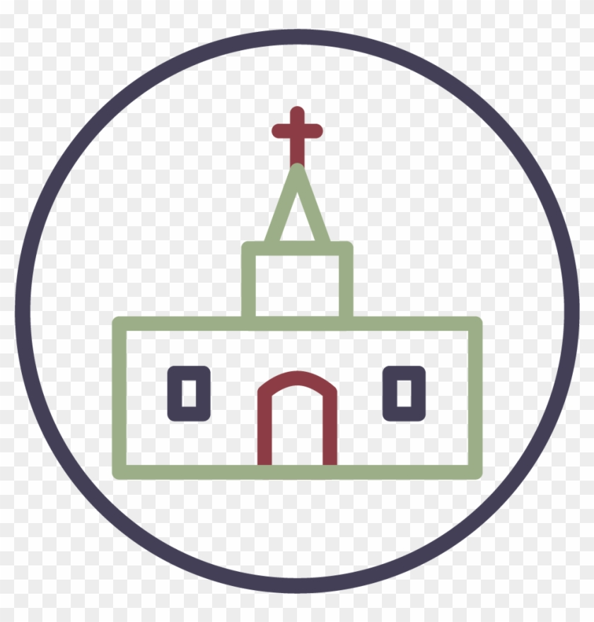 Church Icon - Christian Church #81931