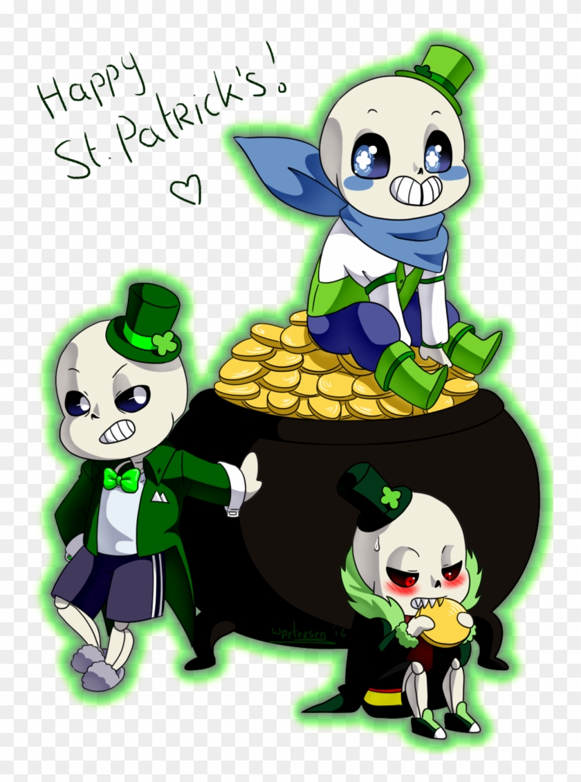 Skelechauns By Purly - St Patrick's Day Sans #82047