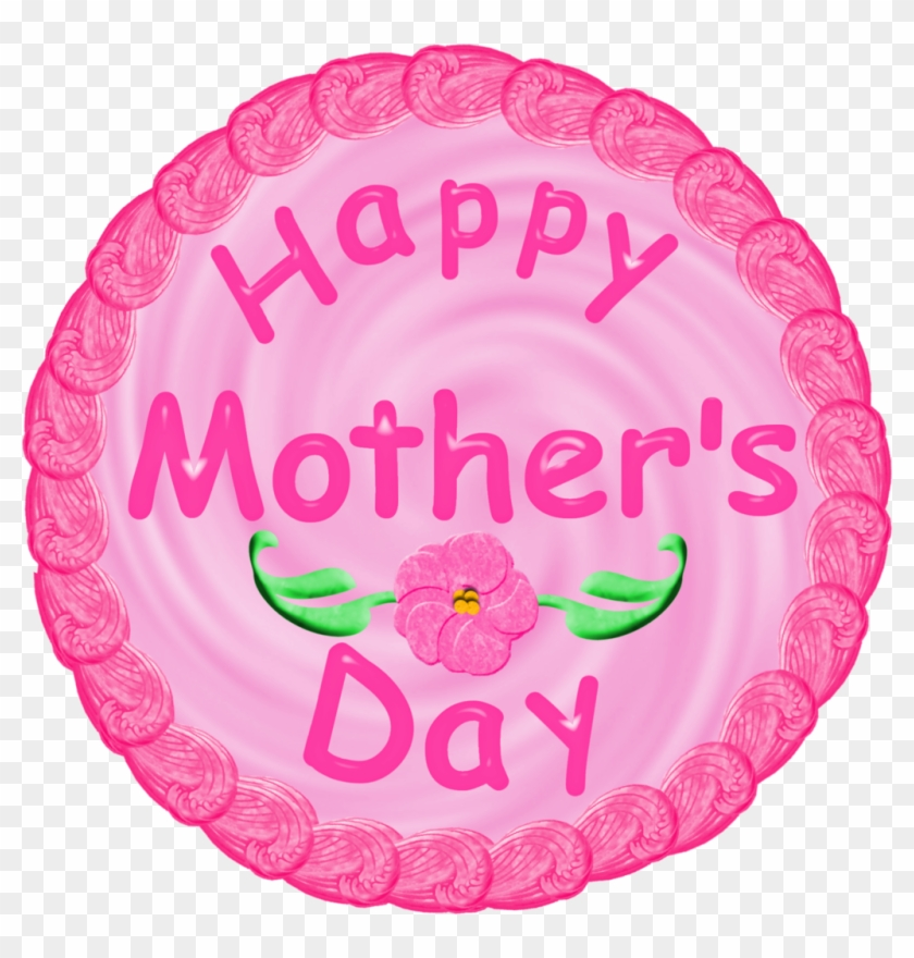 Mothers Day Caketop By Clipartcotttage - Mother's Day #82321
