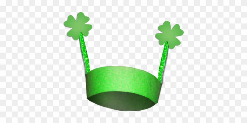 Put A 4 Leaf Clover To Either Side Of The Hat - Saint Patrick's Day Crafts #82408