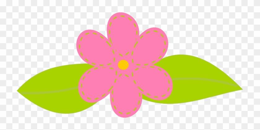 Flower Clipart Printable - Digital Scrapbook Pink Png #82554