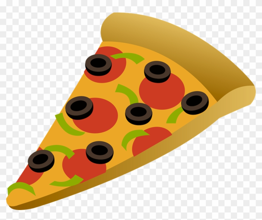 Clipart Library - Slice Of Pizza Cartoon #82583